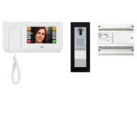 Комплект видеодомофона MITHO (белый лед) с вызывной панелью THANGRAM