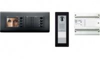 Комплект видеодомофона NOVA (черный цвет) с вызывной панелью THANGRAM