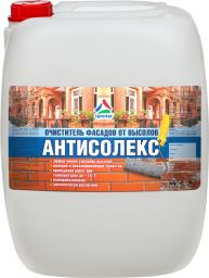 Антисолекс — средство для очистки фасадов от высолов, 20кг