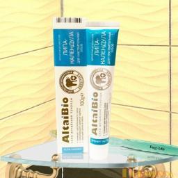 Зубная паста липа-календула