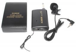 Репортерский беспроводной петличный микрофон (радиомикрофон - петличка)