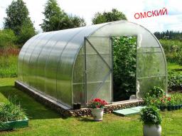 Сотовый поликарбонат Омск 4 мм 6мм 8мм 10мм прозрачный и цветной