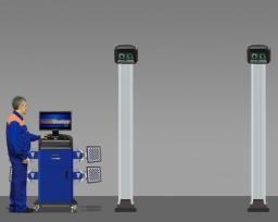 Стенд сход развал 3D Техно Вектор Т 7204 Н A