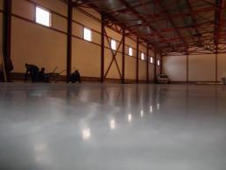 Устройство полимерных бетонных полов