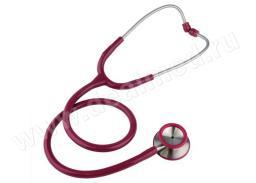 Стетоскоп медицинский из нержавеющей стали Standart-Prestige (бордовый, Е-43431 арт. 06.22700.172) KaWe, Германия