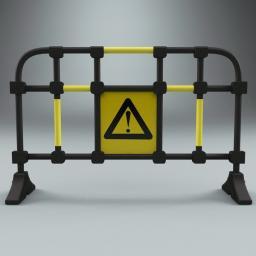 Дорожный пластиковый ФАН-барьер Barrier NOVO™ ВN -1600