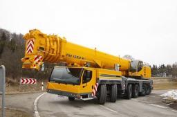 Аренда автокрана LIEBHERR LTM 1300 г/п 300 тонн