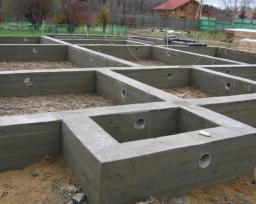 Строительство ленточного фундамента под ключ