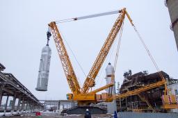 Аренда гусеничного крана LIEBHERR LR 11350 г/п 1350 тонн
