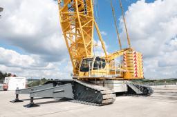 Аренда гусеничного крана LIEBHERR LR 1500 г/п 500 тонн