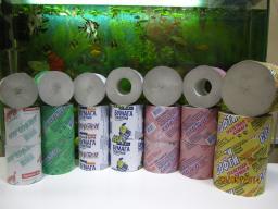 Туалетная бумага в ассортименте.