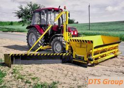 Оборудование навесное для устройства и укрепления обочин на МТЗ