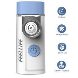 Портатиные Домашние ингаляторы,небулайзер для детей,FEELLIFE меш-небулайзер Air Pro 3