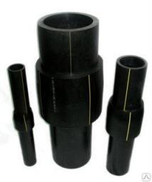 Переход ПЭ/сталь (Россия) 140х133 ПЭ100 SDR11