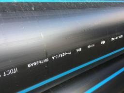 Труба водопроводная напорная из полиэтилена ПЭ 100 SDR17 PN 10,0 75х4,5мм