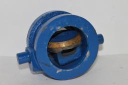 Клапан обратный чугунный 19ч21бр Ду80мм