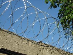 Спиральный барьер безопасности оцинкованный (АКЛ)
