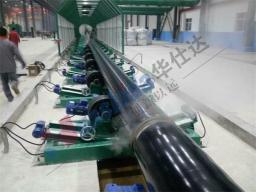 Оборудование для нанесения антикоррозионного покрытия на стальных трубах