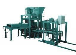 Оборудование по производству брусчатки и бетонных блоков QF5-35