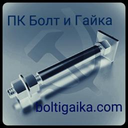 Фундаментный болт с анкерной плитой тип 2.2 м56х2240 сталь 3сп2 ГОСТ 24379.1-2012