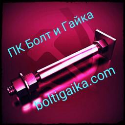 Фундаментный болт с анкерной плитой тип 2.2 м56х3150 сталь 3сп2 ГОСТ 24379.1-2012