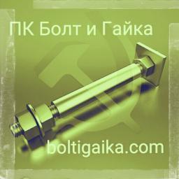 Фундаментный болт с анкерной плитой тип 2.2 м80х2240 сталь 3сп2 ГОСТ 24379.1-2012