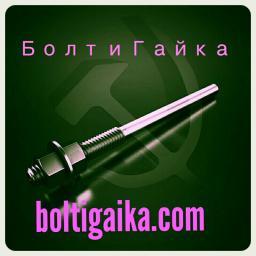 Фундаментный болт прямой тип 5 м24х250 сталь 3сп2 ГОСТ 24379.1-2012