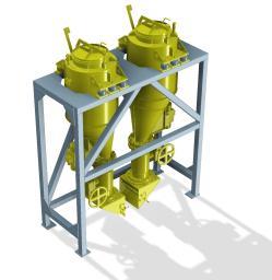 Установка нанесения покрытий ДБ-4 (производство катализаторов)