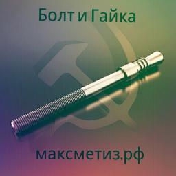 Фундаментный болт с коническим концом тип 6.2 м24х250 сталь 3сп2 ГОСТ 24379.1-2012