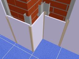 Профиль алюминиевый:ЭФ (F)  для(СМЛ,Стеновых панелей,ГСП) Крашенные по RAL