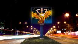 Светодиодный LED экран Билборд Уличный 3x6м Кабинетный, шаг P8