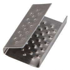 Скрепа металлическая для ПП лент. СМ-16*0,5