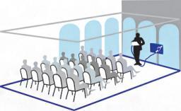 Система информационная для слабослышащих стационарная Исток С3 ( зона охвата от 150 до 400 м2) арт. ИА4560
