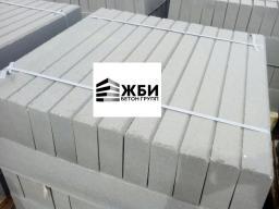 Бордюрный камень садовый Бр 100-20-8 серый