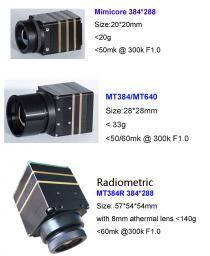 тепловизионные камеры видеонаблюдения 384*288 и 640*480