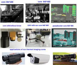 тепловизионная ИК камера 384*288 и 640*480