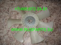 Крыльчатка вентилятора охлаждения двигателя Isuzu 6BG1