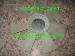 Крыльчатка вентилятор охлаждения двигателя Nissan BD30