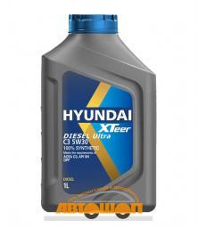 HYUNDAI  XTeer Diesel Ultra C3 5W30,  1 л, Моторное масло синтетическое