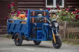 Грузовой Электротрицикл ECOGET 1200W 32Ач с пониженной/повышенной передачей, г/п 1000 кг.