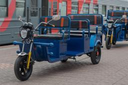 Электротрицикл GETPASSENGER 1000W (Пассажирский Вариант) 32Ач 4 места