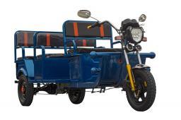Электротрицикл GETPASSENGER 1200W (Пассажирский Вариант) 32Ач 4 места