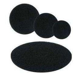 Чёрный размывочный круг (пад)