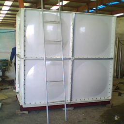 Емкость для воды сборная SMC панели квадратная