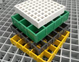 Решетчатый настил композитный стеклопластиковый