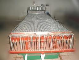 Обработанный станок для производства высокосрочных решеток из стеклопластика
