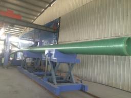 Станок для производства стеклопластиковых труб