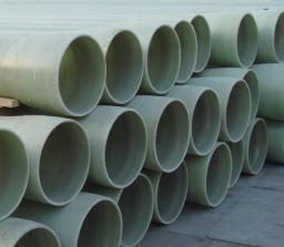 Труба стеклопластиковая для сброса сточных вод/ Труба водосточная