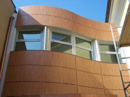 Пластик для отделки балконов и коттеджей, фасадные морозостойкие платы KronoArt