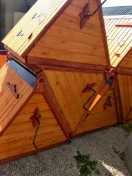 Домик для колодца с вортком